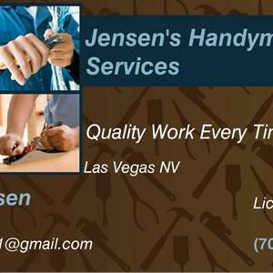 Jensens Handyman Services Logo