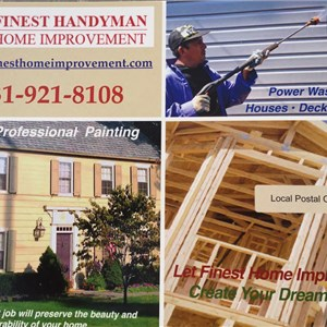 Finest Handyman Home Improvements Cover Photo