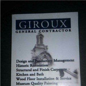 Giroux General Contractor Cover Photo