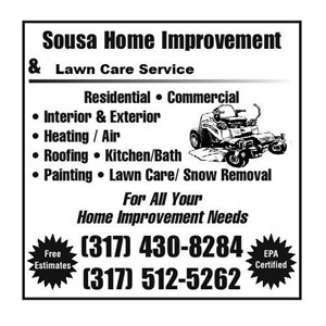 Sousas Lawn Care Service & Home Improvement Logo