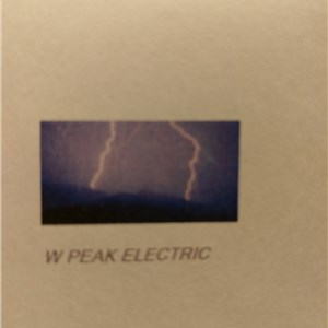 W Peak Electric llc Logo