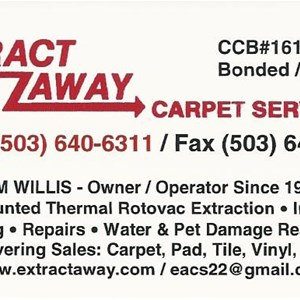 Extract Away Carpet & Installation Service Inc. & Handyman Services Cover Photo
