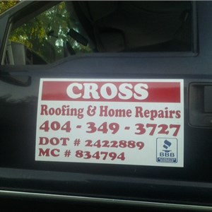Cross Roofing & Home Repairs Logo