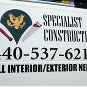 Specialist Construction Logo