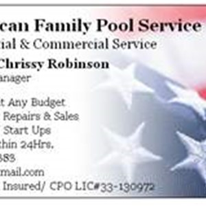 Pool Cleaning Services Company Logo