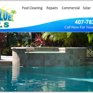Aqua Blue Pools Cover Photo