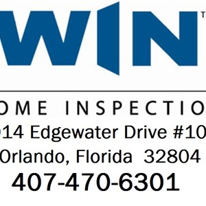 Win Home Inspection / Edwin Allen Construction Co Logo
