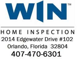 Win Home Inspection / Edwin Allen Construction Co Logo