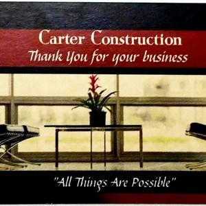 Carter Construction Cover Photo