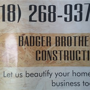 Badger Brothers Construction Logo