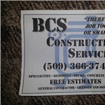 Bcs Construction Services Logo