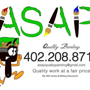 Asap Quality Painting Logo