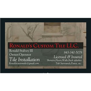 Ronalds Custom Tile LLC. Cover Photo