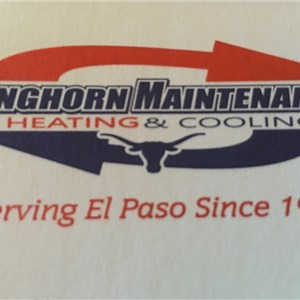 Longhorn Maintenance Heating Logo