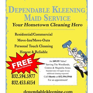 Dependable Kleening Maid Service Cover Photo