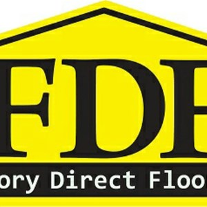 Factory Direct Flooring & Glass Logo