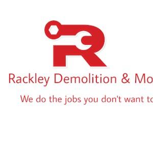 Rackley Demolition & More Logo