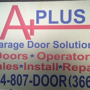 A Garage Door Solutions Logo