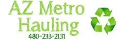 Arizona Metro Hauling Logo