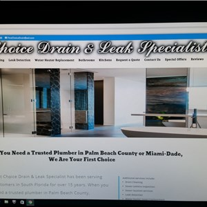 First Choice Drain And Leak Specialist Cover Photo