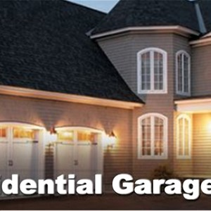 Express Garage Door Service Logo