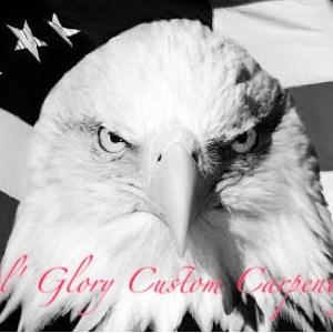 Ol Glory Custom Carpentry Logo