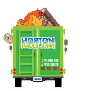 Horton Hauls Junk Logo