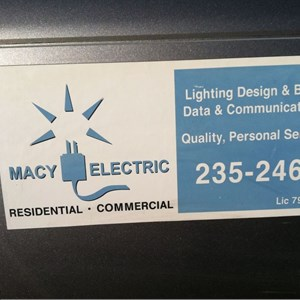 Macy Electric Cover Photo