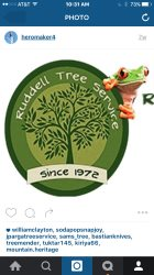 Ruddells Tree Svc Logo