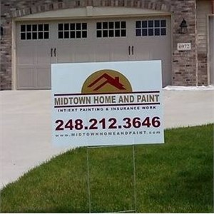 Midtown Home And Paint Logo