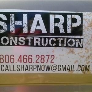 Sharp Construction Cover Photo