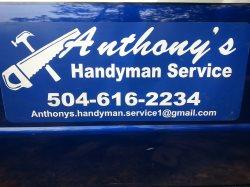 Anthonys Handyman Service Logo