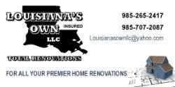 Louisianas Own Total Renovations LLC Logo