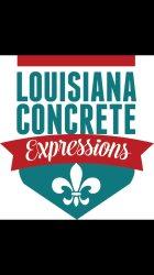 Louisiana Concrete Expressions, LLC Logo