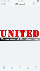 United Renovations and Construction Logo