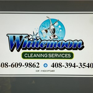 Whitemoon Cleaning Svc Logo