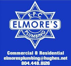 Elmores Plumbing Company Logo