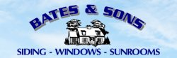Bates & Sons Vinyl Siding CO Logo