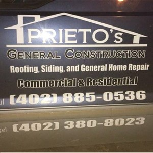 Prietos General Construction Logo
