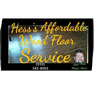 Affordable Wood Floor Refinishing Logo