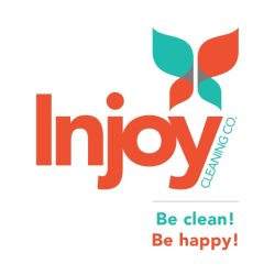 Injoy Cleaning Company Logo