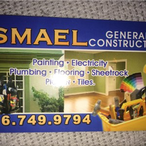 Ismael General Contractor. ICN Logo