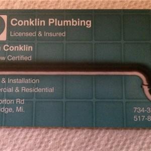 Conklin Plumbing Logo