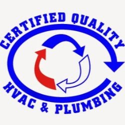 Certified Quality Air Conditioning & Plumbing Logo