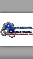 Mechanical Brothers Heating & Cooling Logo