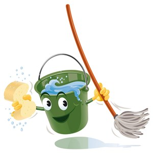 Buckets & Brooms Cleaning Service, LLC Logo