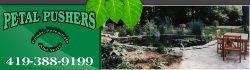 Petal Pusher landscaping Logo