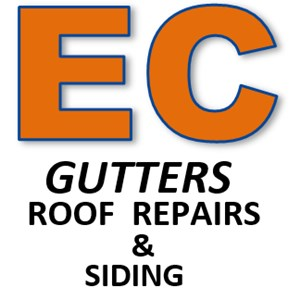 ECGutters  Roof Repairs & Siding Logo