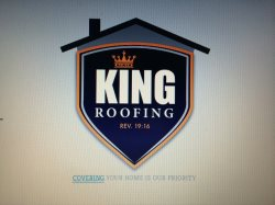 King Roofing Logo
