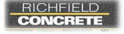 Richfield Concrete Logo